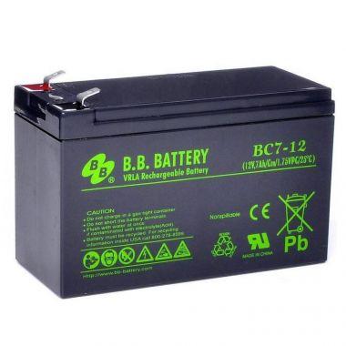Аккумуляторная батарея BB Battery BC7-12 (12V / 7Ah)