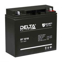 Аккумуляторная батарея Delta DT 1218 (12V / 18Ah)