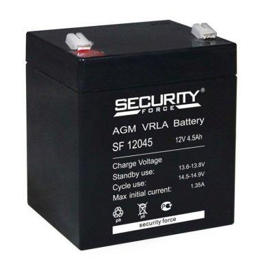Аккумуляторная батарея Security Force SF 12045 (12V / 4.5Ah)