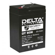 Аккумуляторная батарея Delta DT 606 (6V / 6Ah)