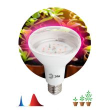 Лампа светодиодная LED красно-синего спектра FITO-16W-RB-E27-K Эра