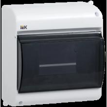 Бокс с прозрачной крышкой КМПн 2/6 для 6-х автоматических выключателей наружной установки IEK