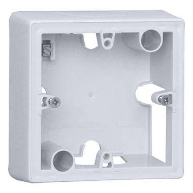 Коробка Valena 1-постовая для накладного монтажа белая Legrand