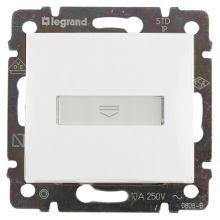 Выключатель Valena для гостиничных номеров стандарт белый Legrand