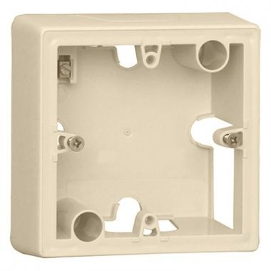 Коробка Valena 1-постовая для накладного монтажа слоновая кость Legrand
