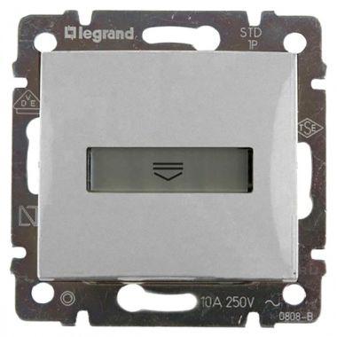 Выключатель Valena для гостиничных номеров стандарт алюминий Legrand