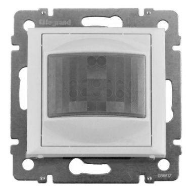 Датчик движения ИК трехпроводный Valena с нейтралью 1000Вт угол 120° белый Legrand