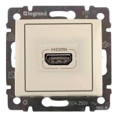 Розетка HDMI Valena слоновая кость Legrand