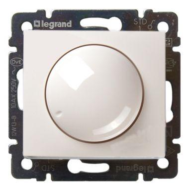 Светорегулятор (диммер) Valena поворотный 400W белый Legrand