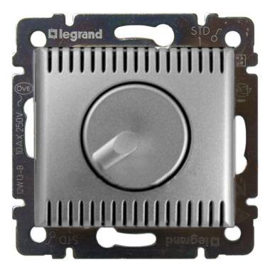 Светорегулятор (диммер) Valena поворотный 1000W алюминий Legrand