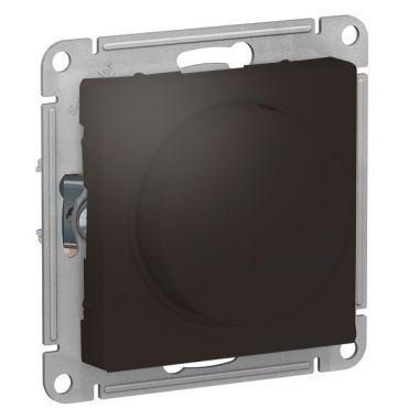 Светорегулятор (диммер) поворотно-нажимной, 630Вт AtlasDesign, мокко Schneider Electric