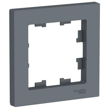 Рамка AtlasDesign 1-постовая, грифель Schneider Electric