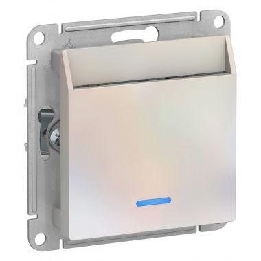 Выключатель карточный AtlasDesign, жемчуг Schneider Electric