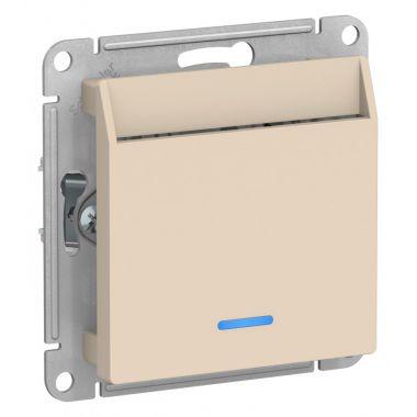 Выключатель карточный AtlasDesign, бежевый Schneider Electric