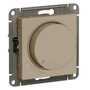 Светорегулятор (диммер) поворотно-нажимной, 315Вт AtlasDesign, шампань Schneider Electric