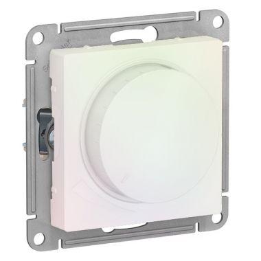 Светорегулятор (диммер) поворотно-нажимной, 315Вт AtlasDesign, жемчуг Schneider Electric