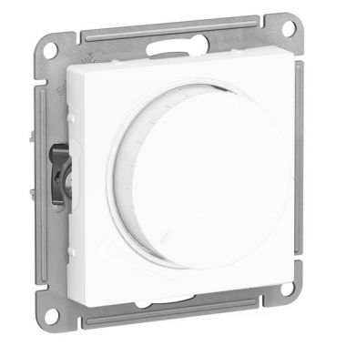 Светорегулятор (диммер) поворотно-нажимной, 315Вт AtlasDesign, белый Schneider Electric
