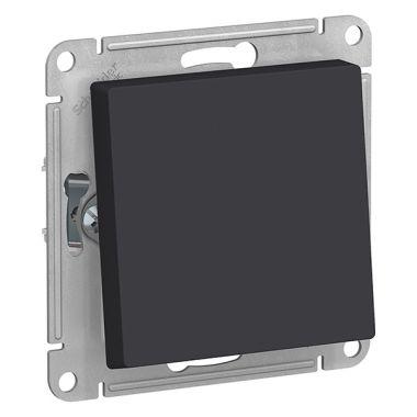 Переключатель 1-клавишный IP44 10АХ AtlasDesign Aqua, карбон Schneider Electric