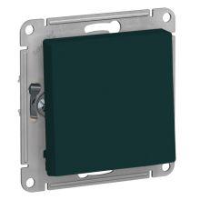 Выключатель 1-клавишный 10А AtlasDesign, изумруд Schneider Electric