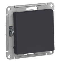 Выключатель 1-клавишный 10А AtlasDesign, карбон Schneider Electric