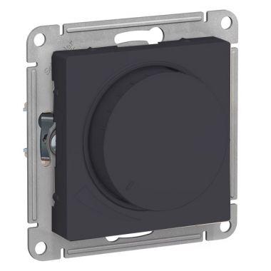 Светорегулятор (диммер) поворотно-нажимной, 315Вт AtlasDesign, карбон Schneider Electric