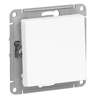 Кнопка 10А механизм AtlasDesign, белый Schneider Electric