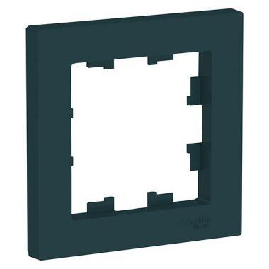 Рамка AtlasDesign 1-постовая, изумруд Schneider Electric