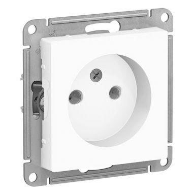 Розетка без заземления 16А AtlasDesign, белый Schneider Electric