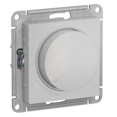 Светорегулятор (диммер) поворотно-нажимной, 315Вт AtlasDesign, алюминий Schneider Electric