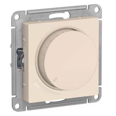 Светорегулятор (диммер) поворотно-нажимной, 630Вт AtlasDesign, бежевый Schneider Electric