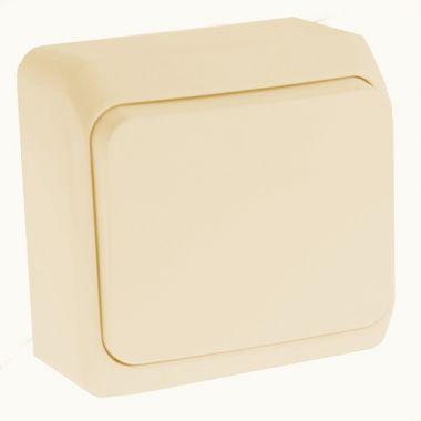 Выключатель Этюд кнопочный, кремовый Schneider Electric
