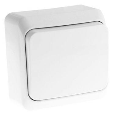 Выключатель Этюд кнопочный, белый Schneider Electric