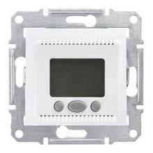 Термостат Sedna комфорт программируемый, для теплого пола, белый Schneider Electric
