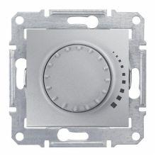 Светорегулятор (диммер) Sedna поворотный, 60-325Вт, алюминий Schneider Electric
