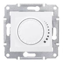 Светорегулятор (диммер) Sedna поворотно-нажимной, проходной, 60-500Вт, белый Schneider Electric