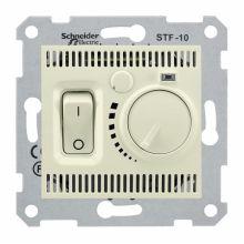 Термостат Sedna для теплого пола, бежевый Schneider Electric