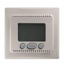 Термостат Sedna комфорт программируемый, для теплого пола, титан Schneider Electric