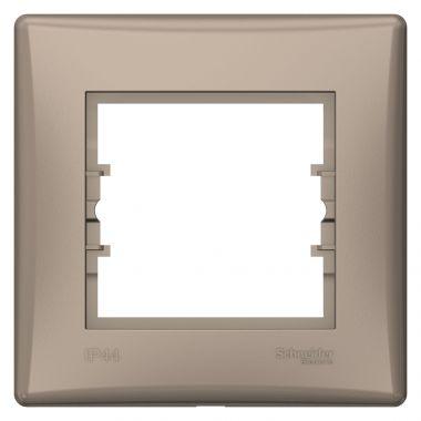 Рамка Sedna 1-постовая IP44, титан Schneider Electric