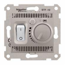 Термостат Sedna для теплого пола, титан Schneider Electric