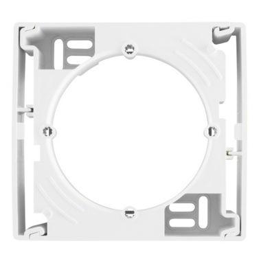 Коробка Sedna для наружного монтажа, одиночная, белый Schneider Electric