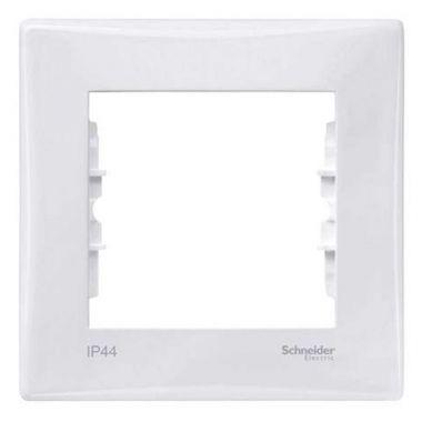 Рамка Sedna 1-постовая IP44, белый Schneider Electric