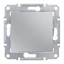 Выключатель Sedna 1-клавишный, алюминий Schneider Electric