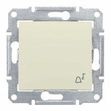 Выключатель Sedna кнопочный, с символом