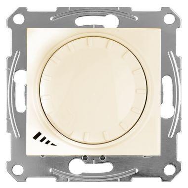 Светорегулятор (диммер) Sedna LED поворотно-нажимной, универсальный, 4-400Вт, бежевый Schneider Electric