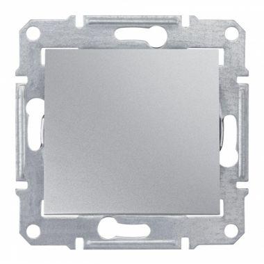 Выключатель Sedna 1-клавишный, IP44, алюминий Schneider Electric