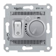 Термостат Sedna для теплого пола, алюминий Schneider Electric