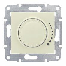 Светорегулятор (диммер) Sedna поворотный, 60-325Вт, бежевый Schneider Electric