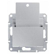 Выключатель Sedna карточный, алюминий Schneider Electric