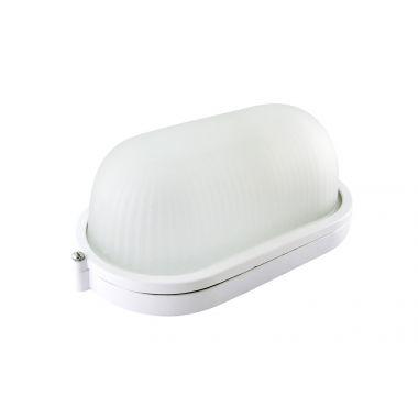 Светильник НПБ1401 белый, овал 60Вт IP54 TDM