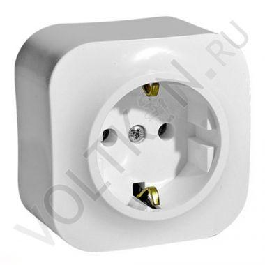 Розетка Quteo 2К+3, c защитными шторками, белый Legrand